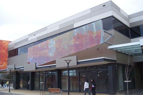 Sydenham Interactive Learning Centre -Tech Glass