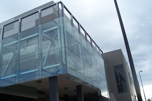 Sydenham Interactive Learning Centre - Tech Glass
